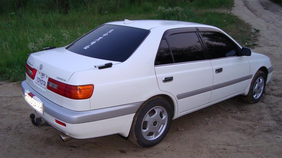 Тойота корса тюнинг фото