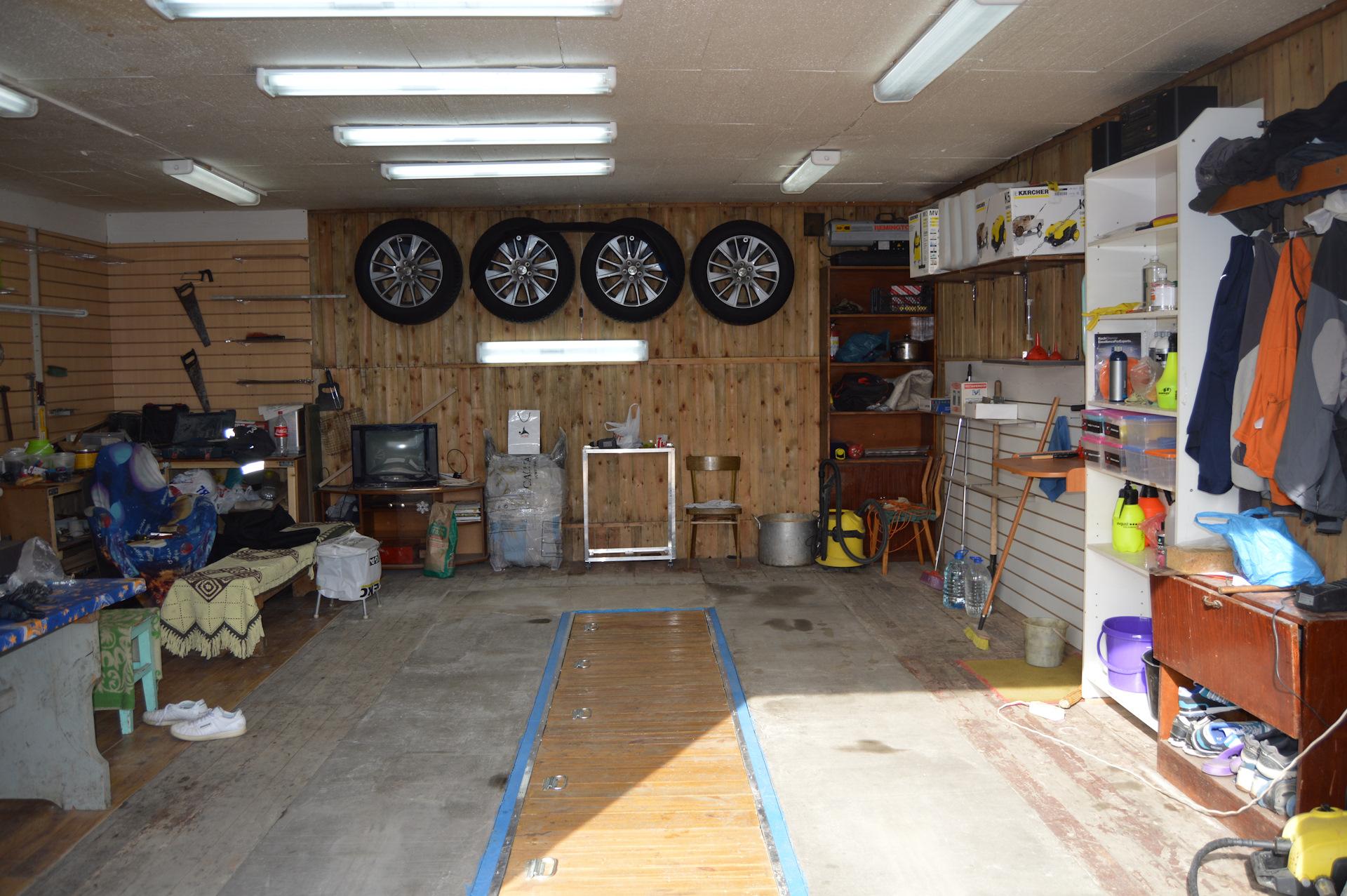 прикольный ремонт гаража фото разделки рыбы филе