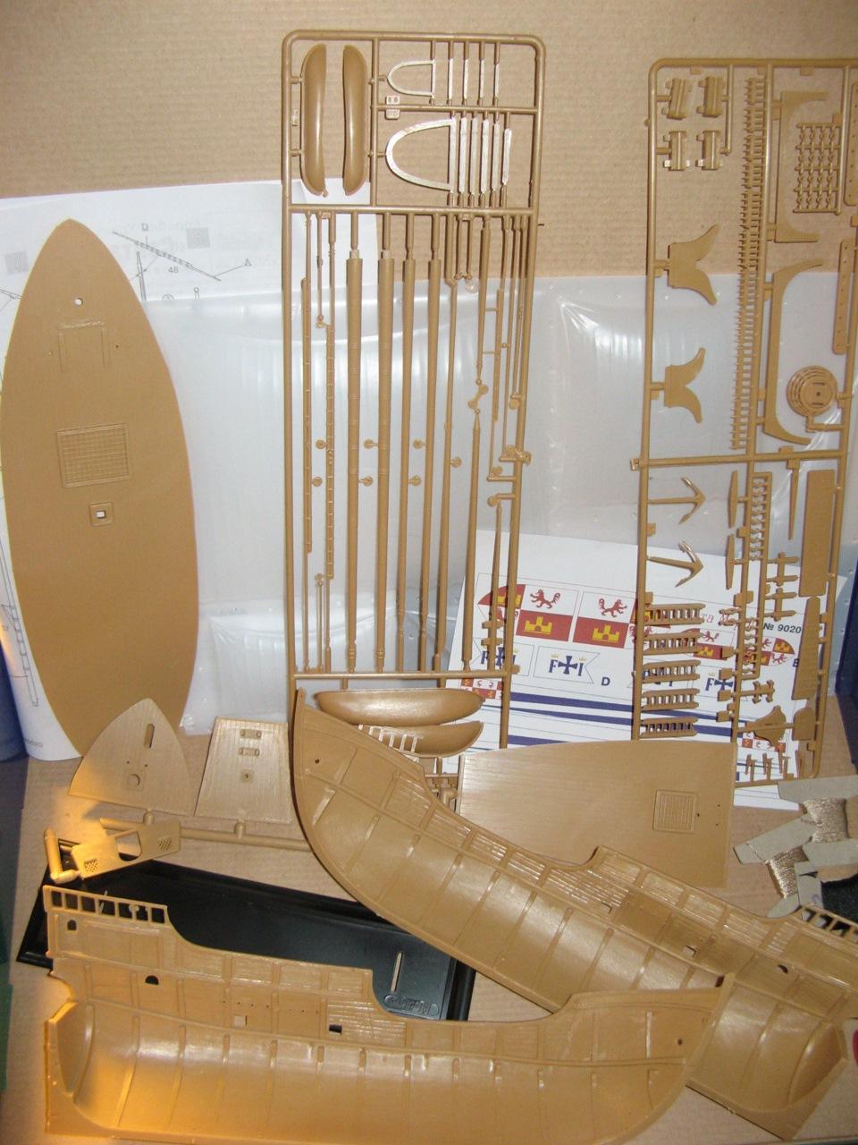 инструкция сборки модели корабля орел