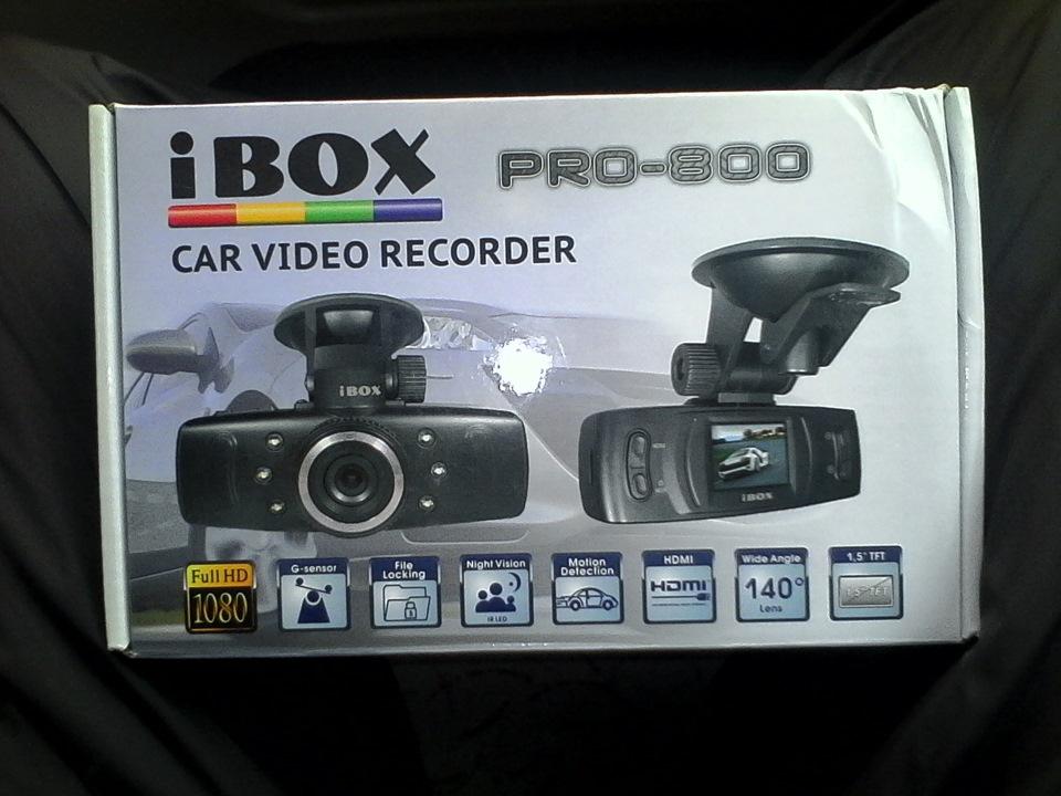 Видеорегистратор ibox pro 800