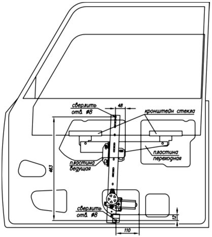 Установка Модели R160 и R160-