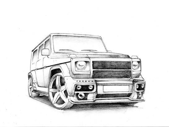 Эскизы обвесов, G-class — Сообщество «Mercedes-Benz Life ...