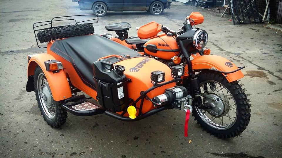 Мотоцикл урал для туризма своими руками 48