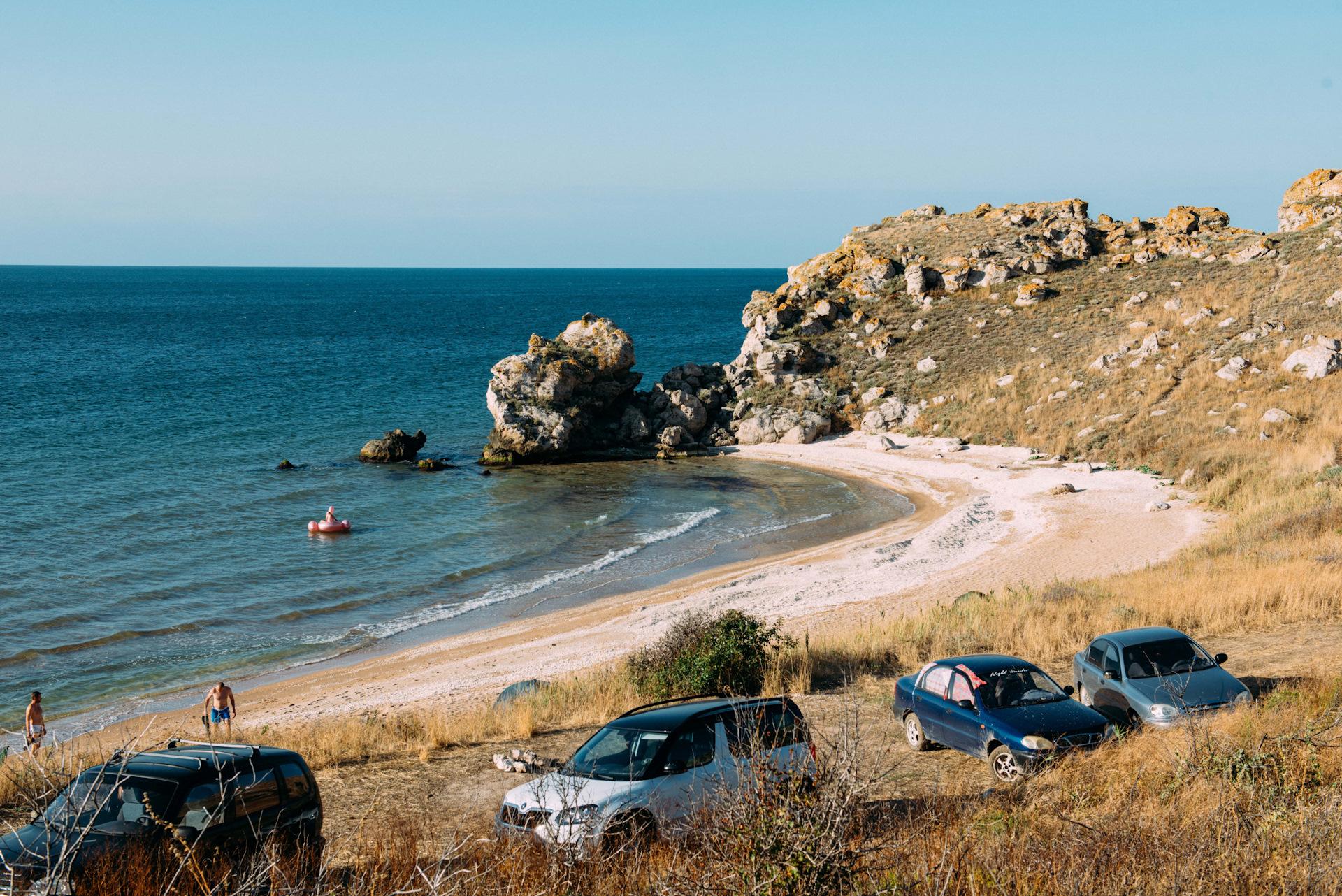 отдых крым дикий пляж фото чем