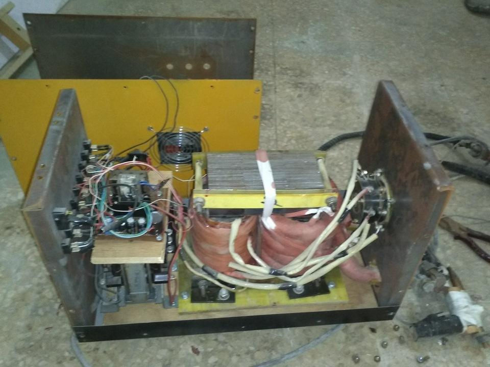 Схема точечной электросварки