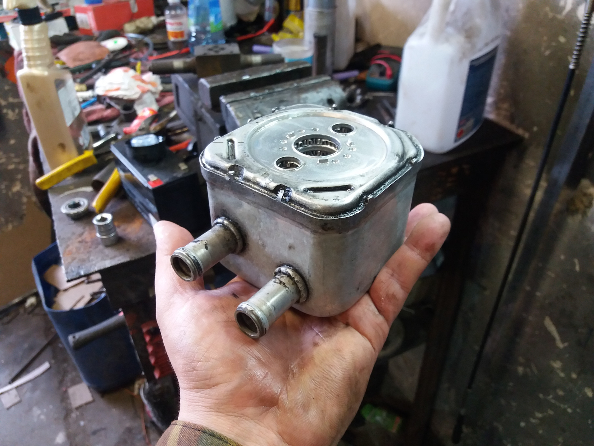 Чем промыть теплообменник авто Паяный теплообменник Alfa Laval CBH16-25H Соликамск