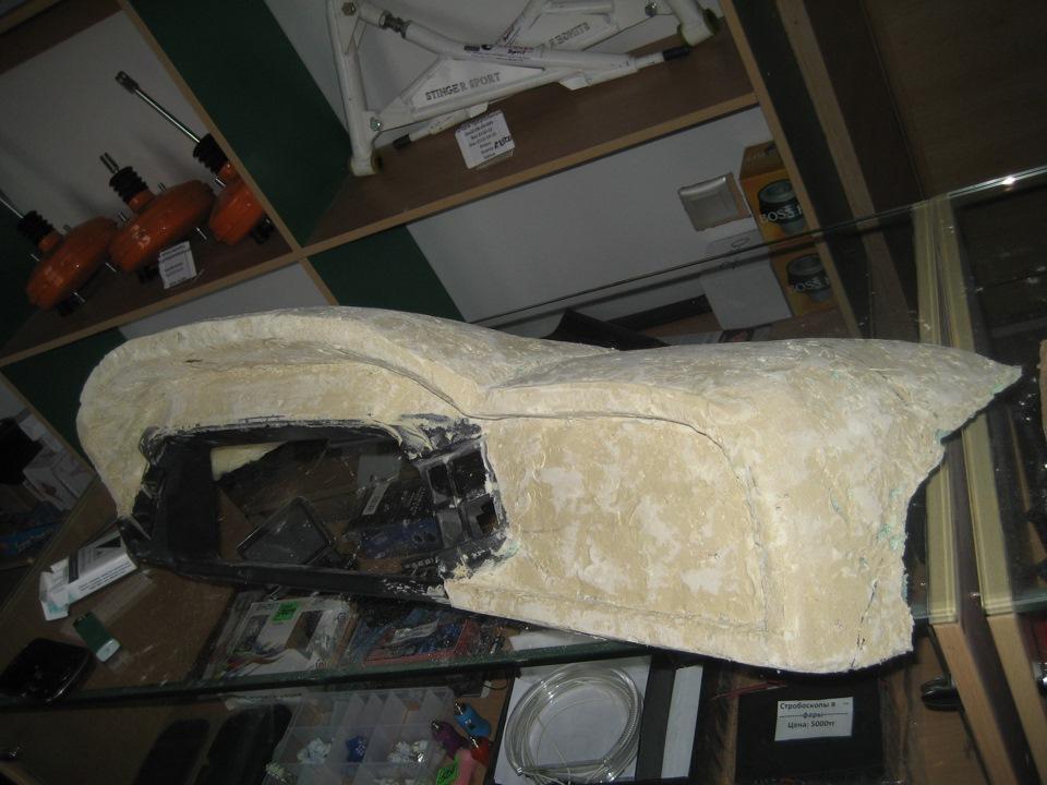 Фото №4 - тюнинг торпедо ВАЗ 2110 своими руками