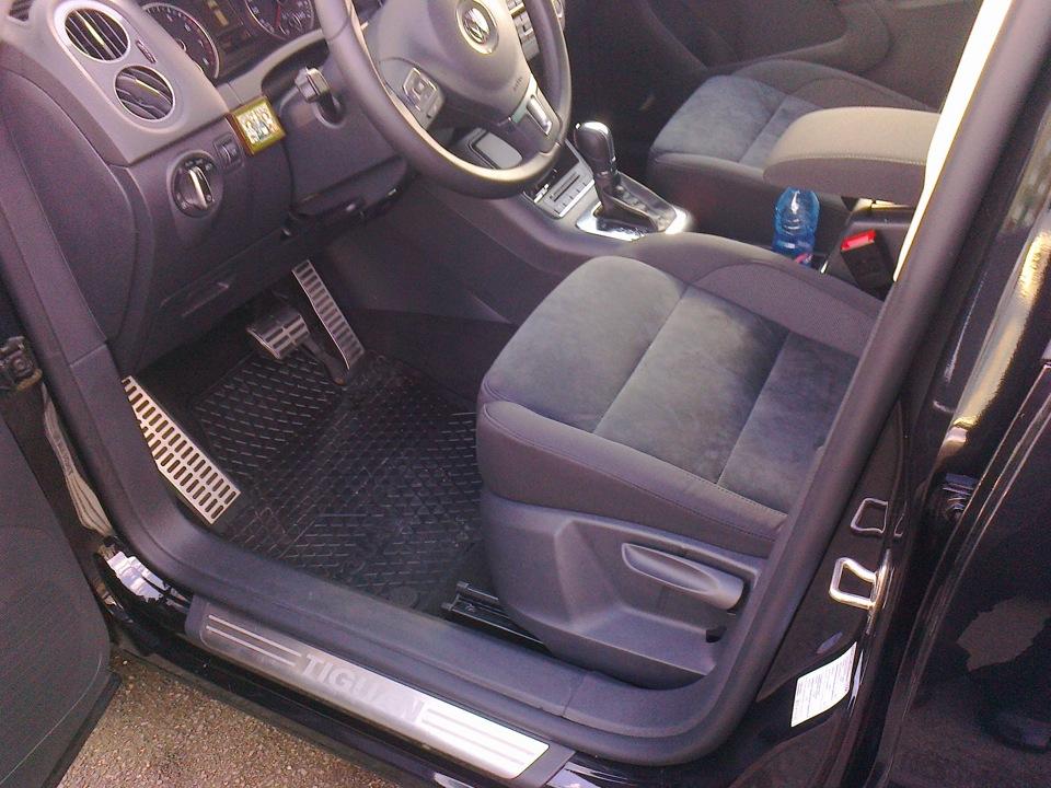"Салон ""Алькантара"" — бортжурнал Volkswagen Tiguan Черный ..."