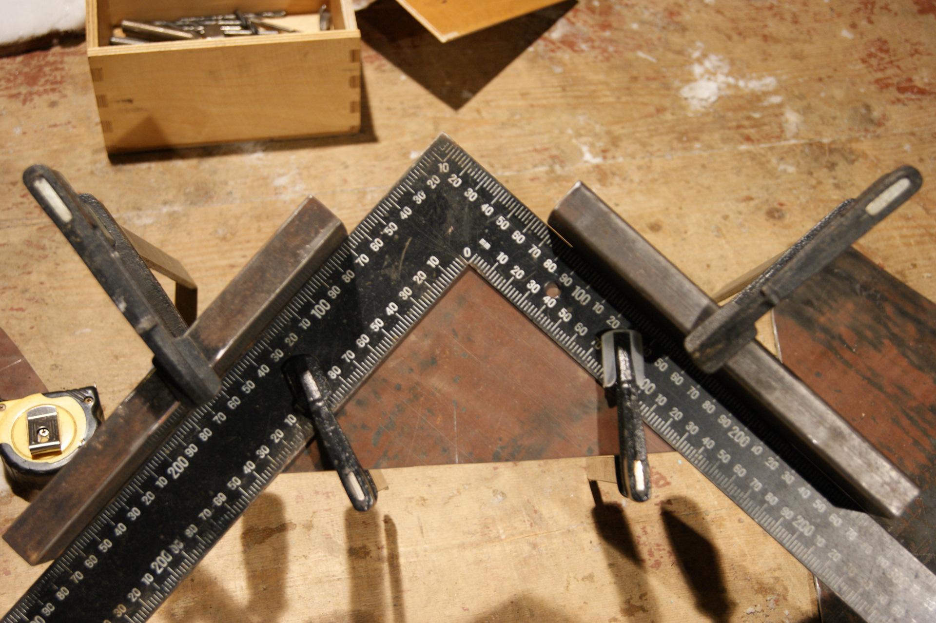 Египетский треугольник. Прямой угол без инструмента 33