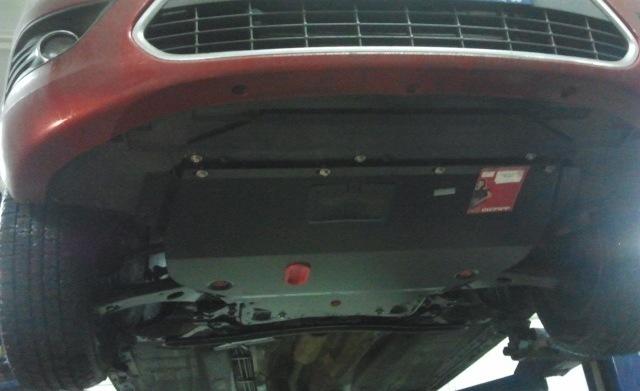 Защита картера форд фокус 2