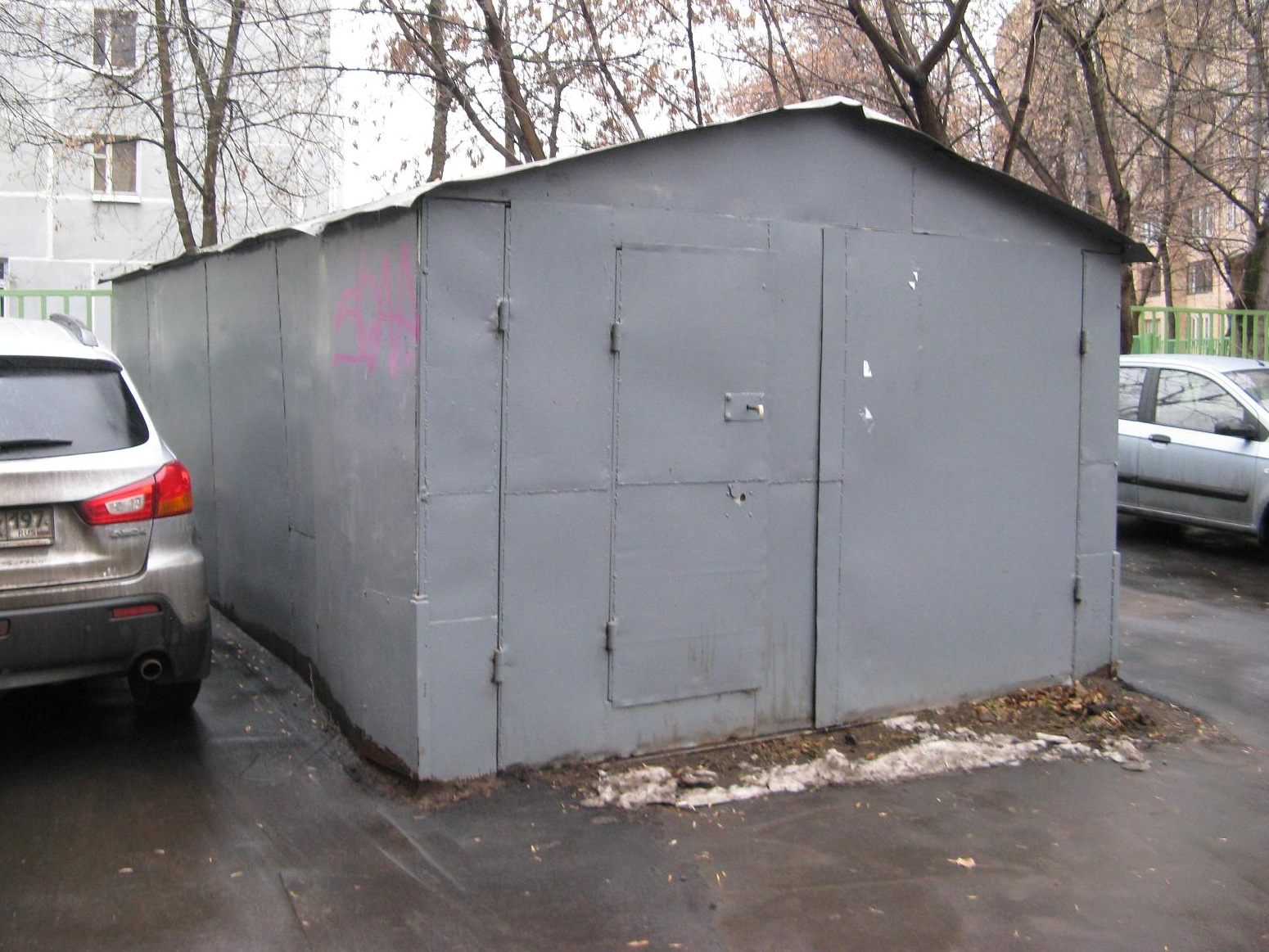 гараж является объектом недвижимости