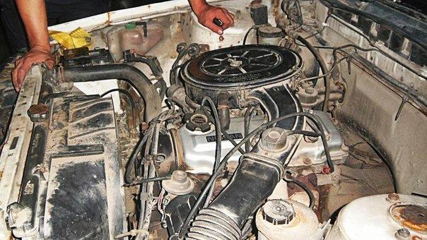 двигатель nissan ca18