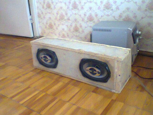 Короб для динамика 16 см