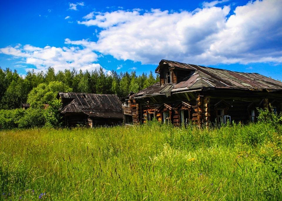 заброшенные деревни в красноярском крае фото