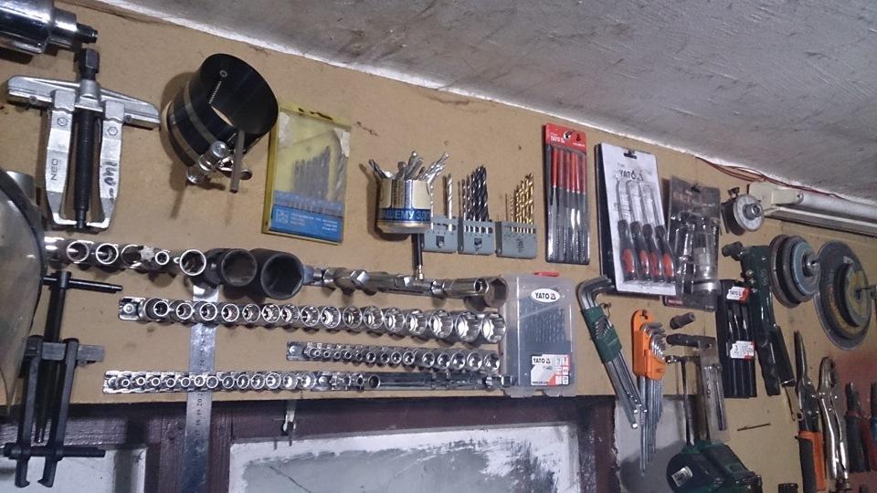 Самодельный инструмент для гаража своими руками