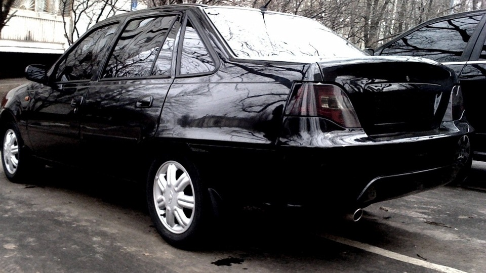 дэу нексия черного цвета фото