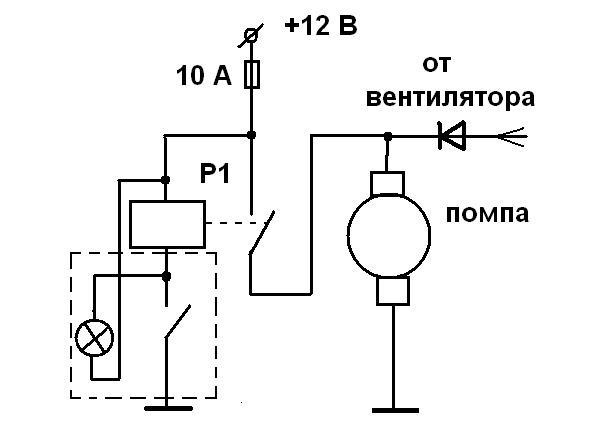 Электрическая схема подключения отопителя газель фото 657