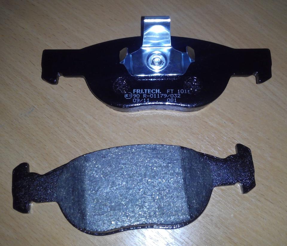 передние тормозные колодки на фиат брава