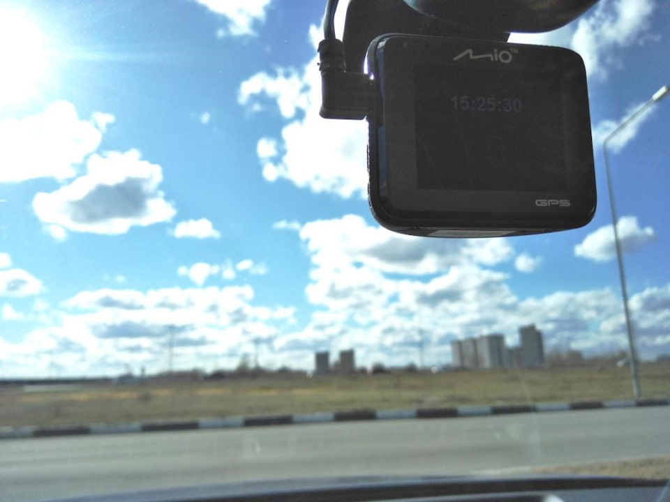 Погода радует меня и видеорегистратор