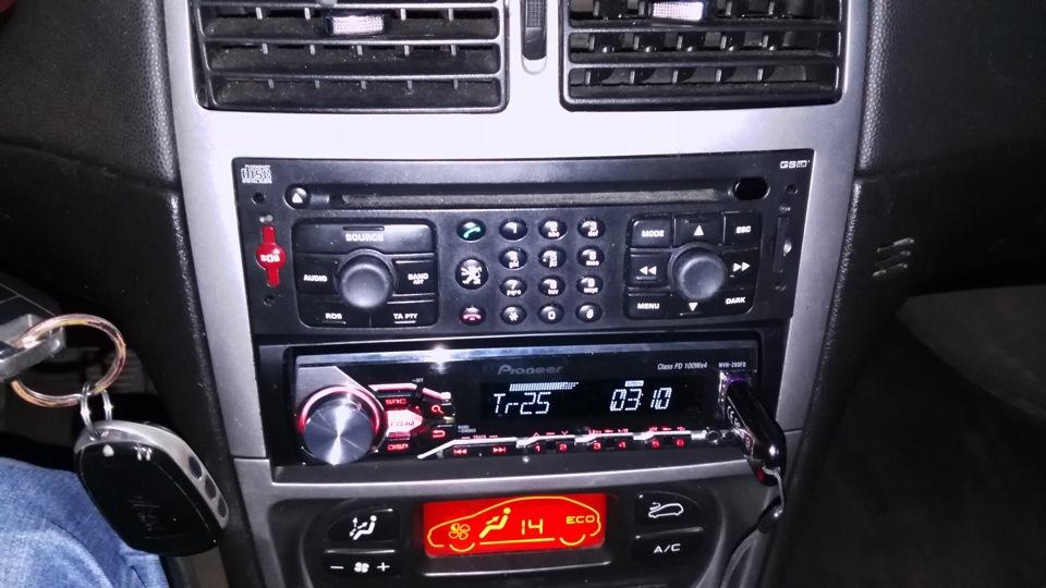проводка усилитель акустика peugeot 307