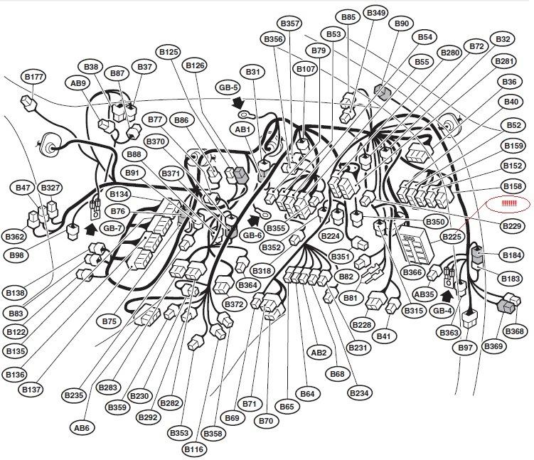 Основная схема проводки