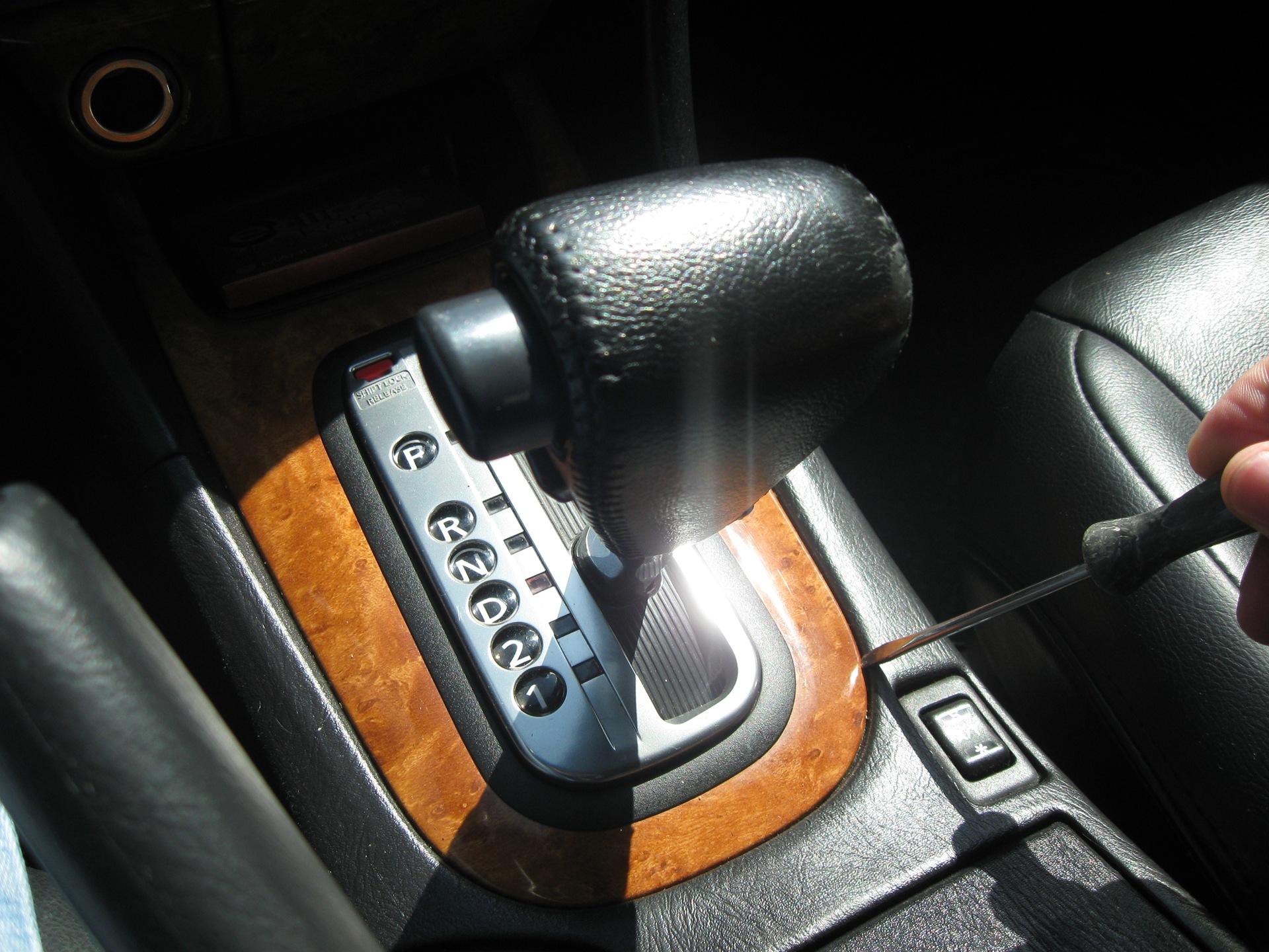 Как сделать подсветку на коробку передач