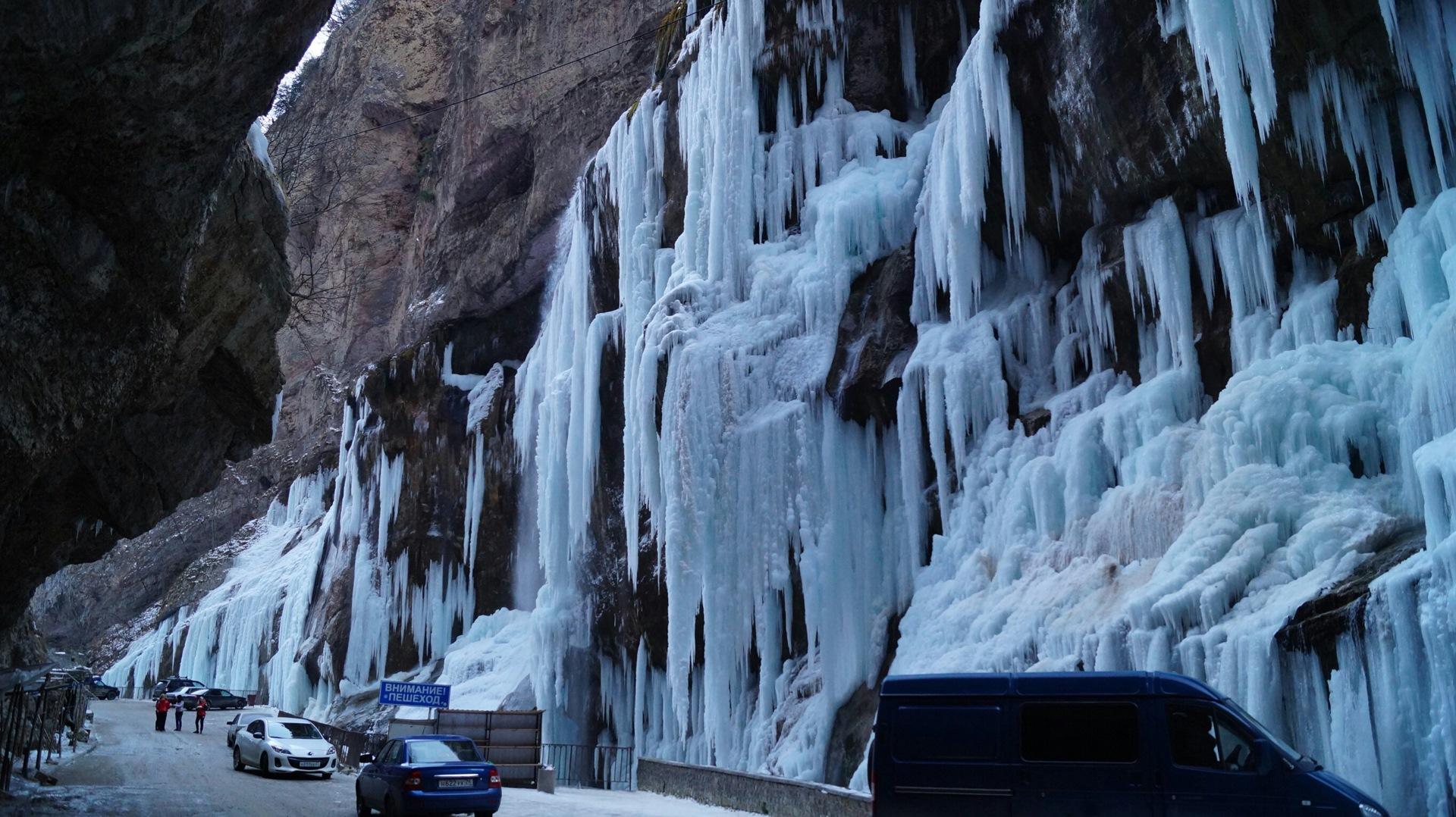поляризационный фоторепортаж чегемские водопады типы