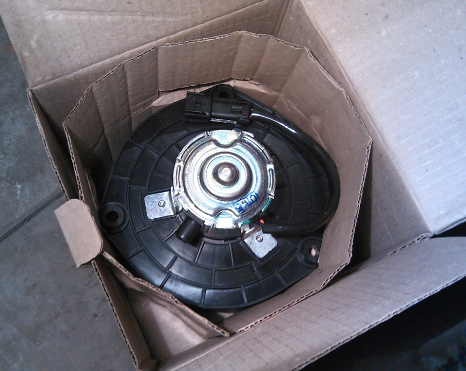 Замена вентилятор печки ваз 2112