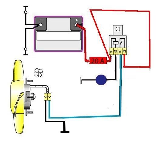 Схема вентилятора охлаждения ваз 2110 инжектор фото 223