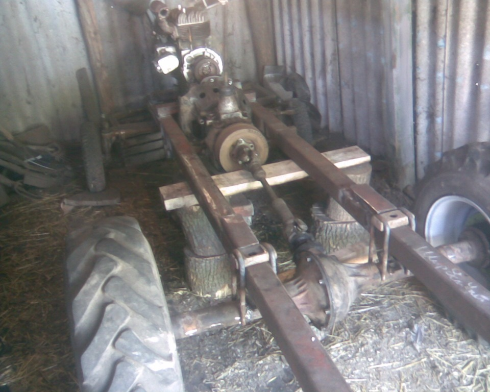 Колеса трактора и регулировка колеи