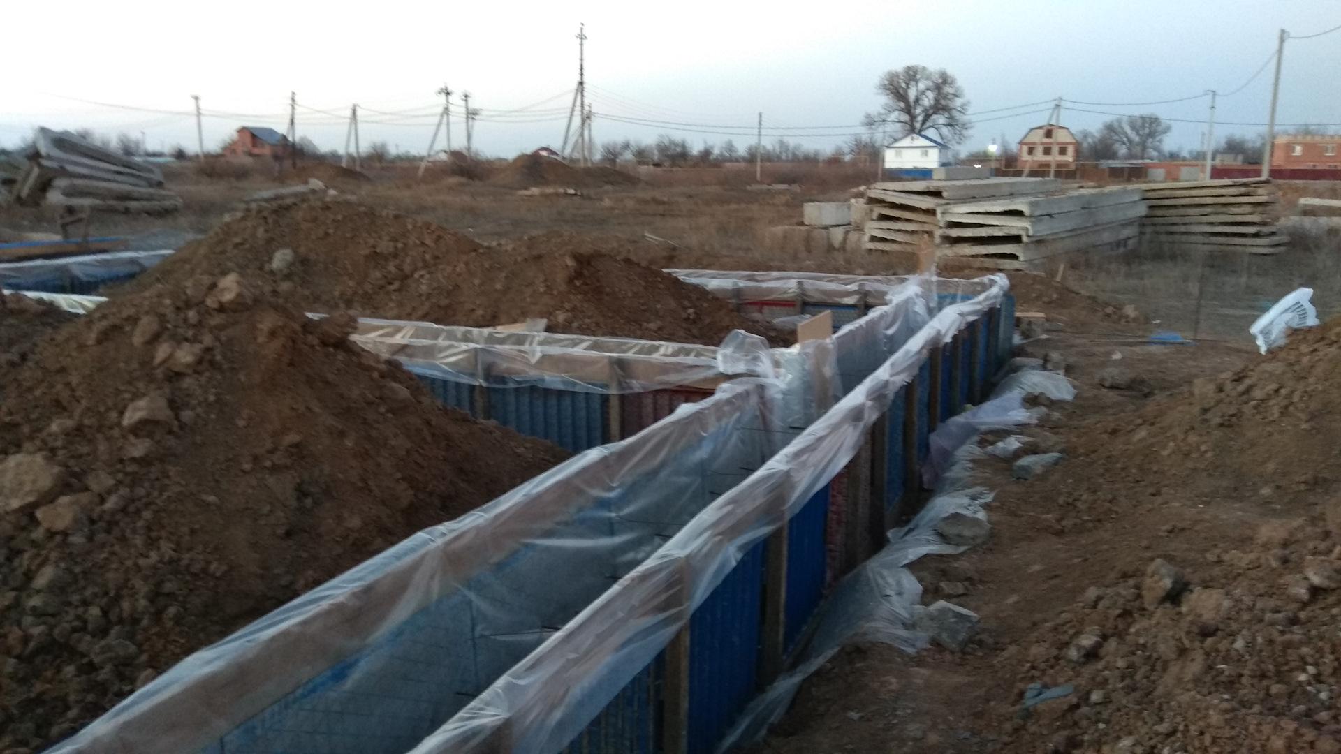 Заливка бетона в зимний период