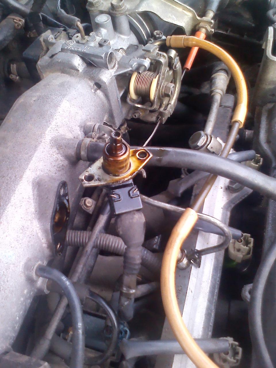 как запустить двигатель без холодного форсунки