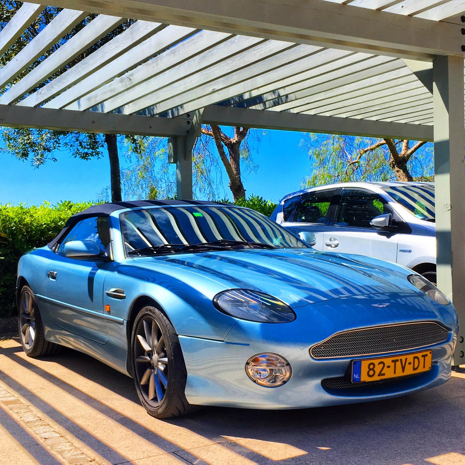 бортжурнал Aston Martin DB9 2007 года