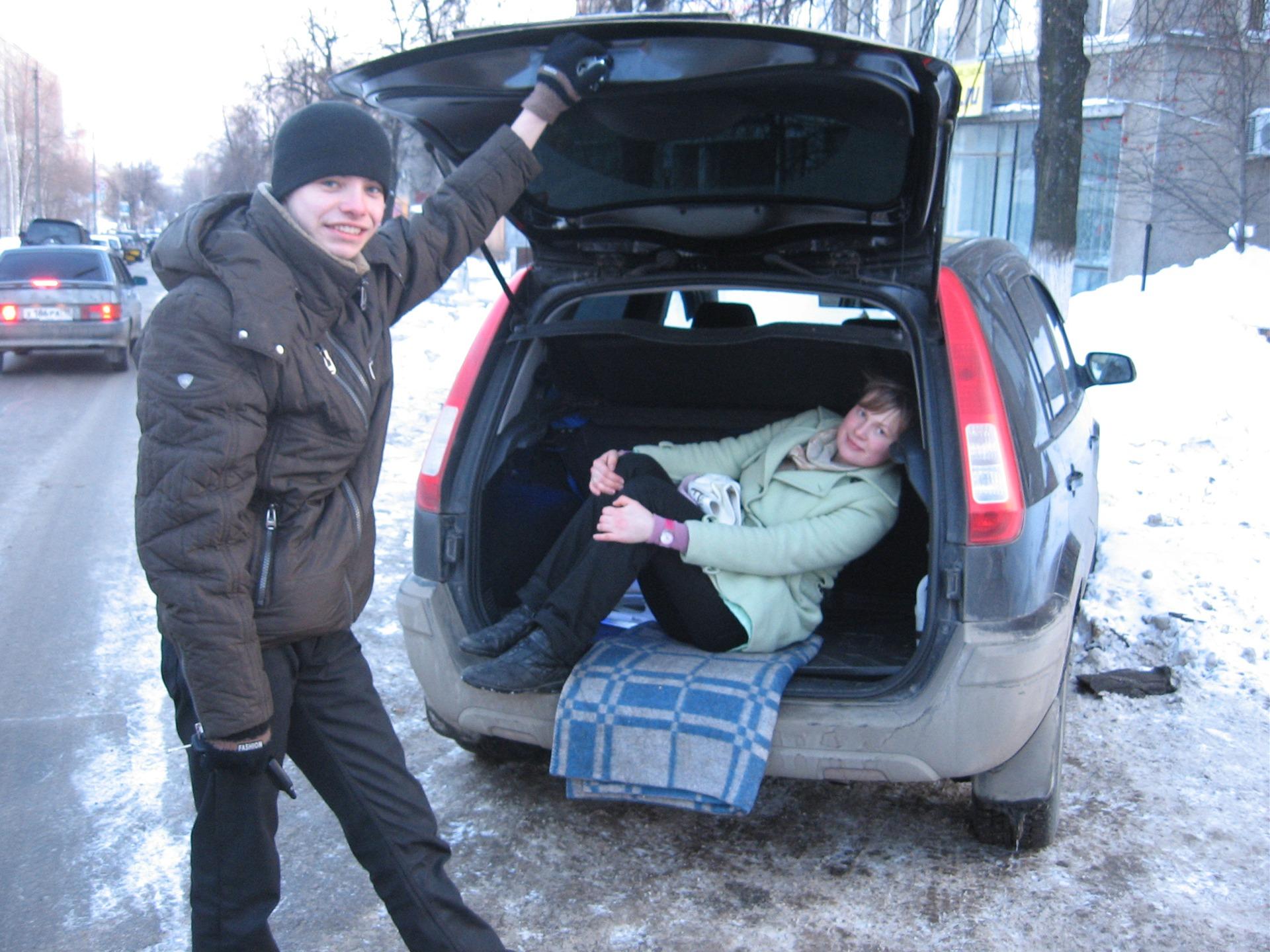 ford fusion фото багажника