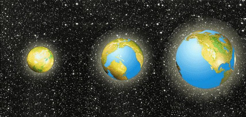 Глобус земли через 200 млн лет картинки