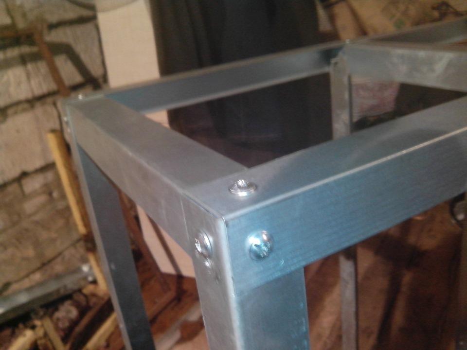 Ящик для инструментов своими руками из профиля