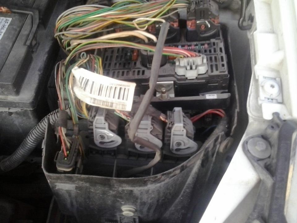 постоянно работает вентилятор охлаждения ситроен