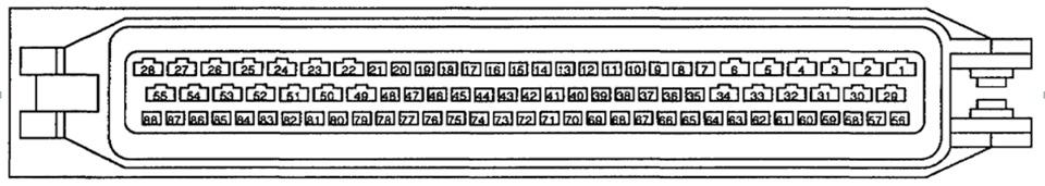 bmw e34 блок управления форсунками