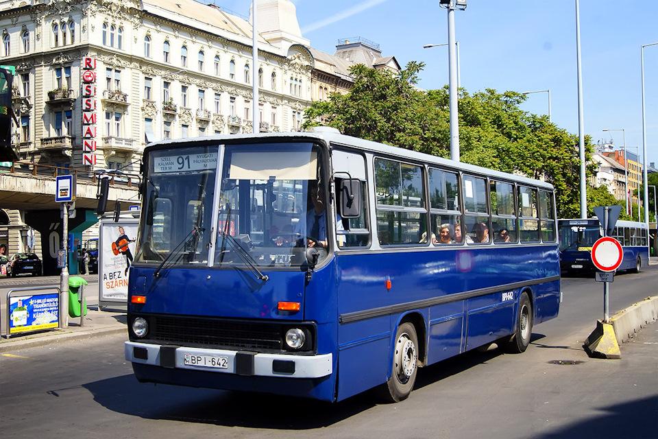 Глянцевое состояние многих Икарусов в Будапеште — заслуга многочисленных капремонтов, которые выполняют как местные ремзаводы, так и эксплуатирующие гаражи