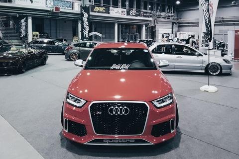 Audi Rs Q3 Lowcarsmeet Halfroll