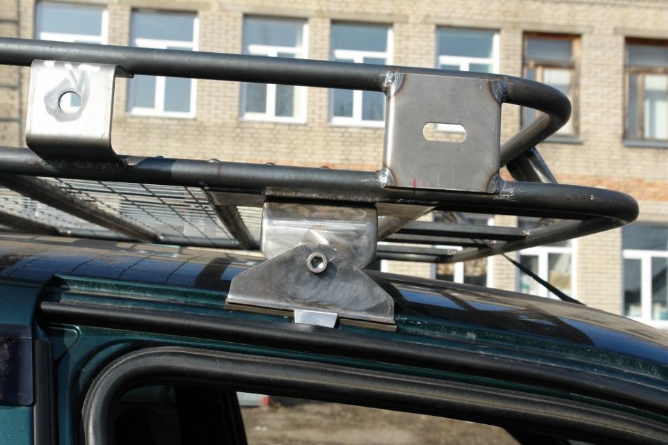 Крепление для багажника на крышу нивы