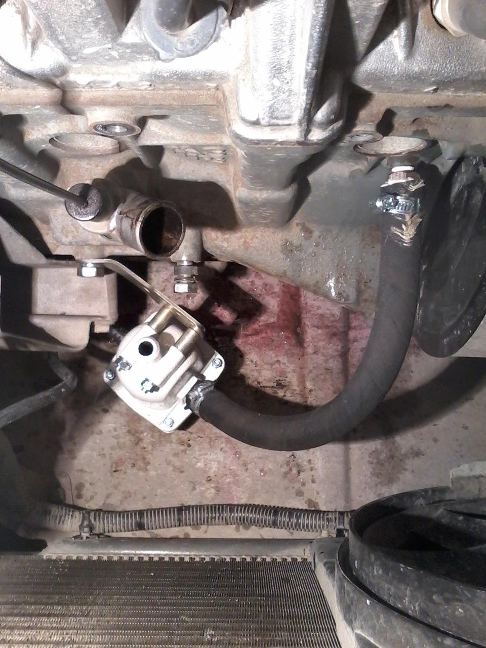 Установка подогрева двигателя на калину своими руками