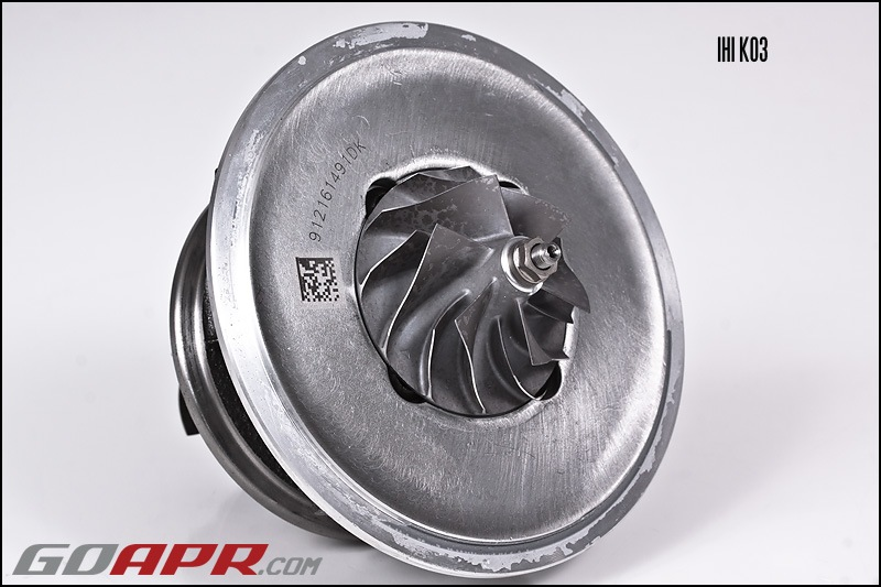 Сравнение турбин K03(IHI) vs K04(Borg Warner) — Volkswagen