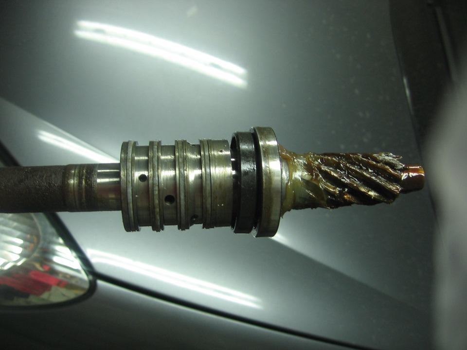 вал рулевого клапана