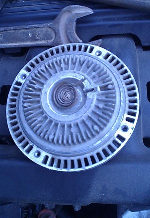 Муфта вентилятора (вискомуфта) б/у bmw 5 e34 1988-1995 дизель 25 л