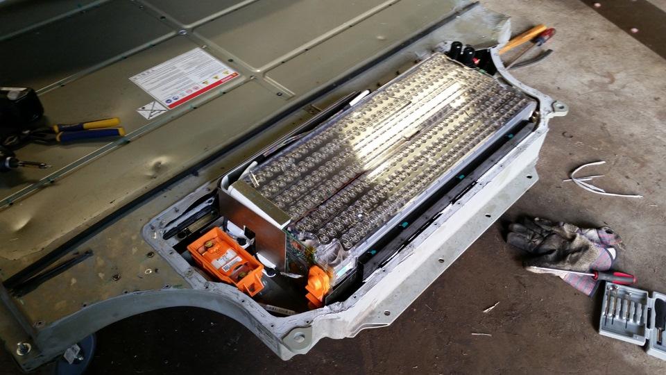 Из чего состоит батарея для Tesla Model S 171 Электромобили