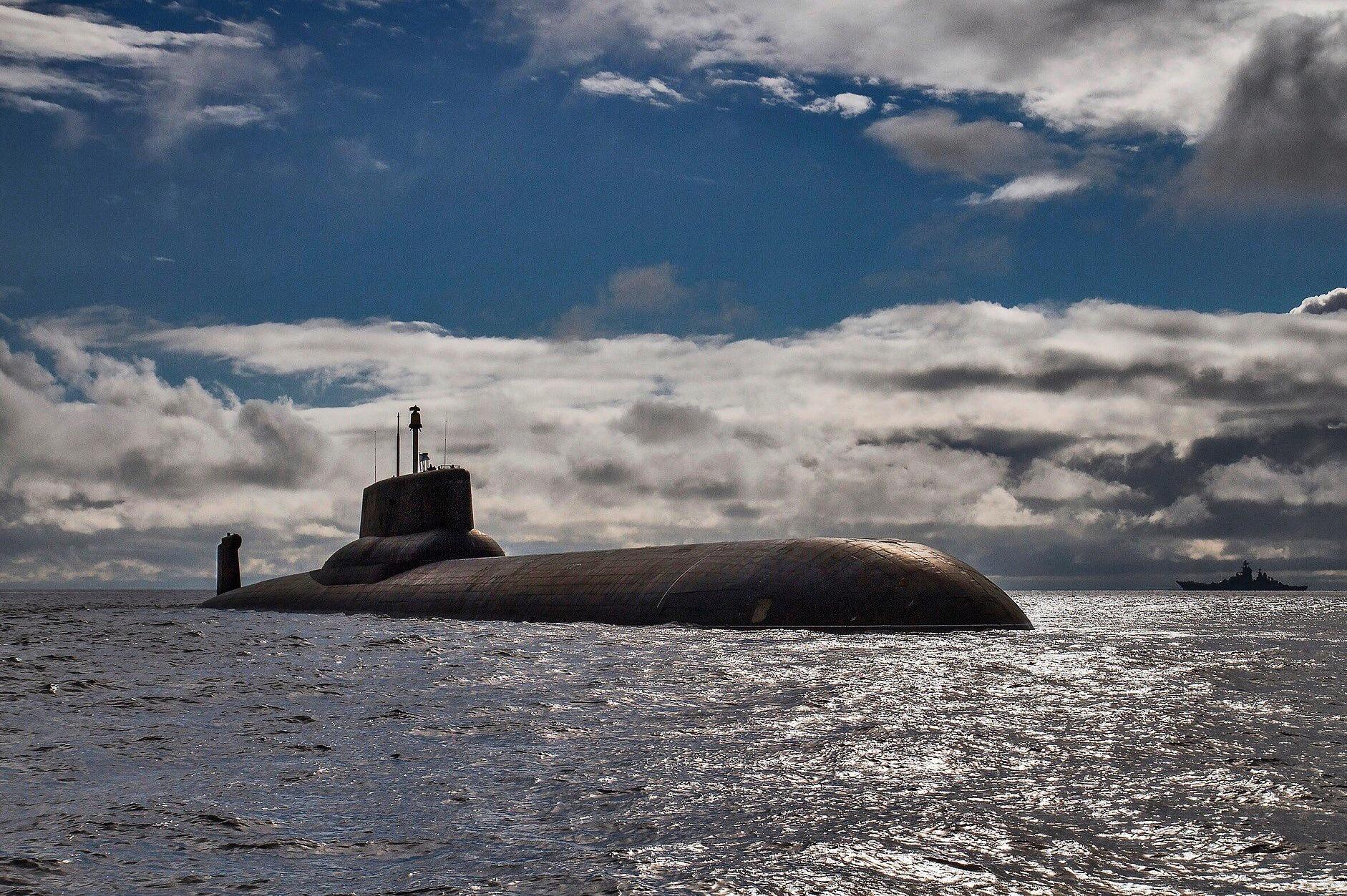 Атомная подводная лодка акула картинки