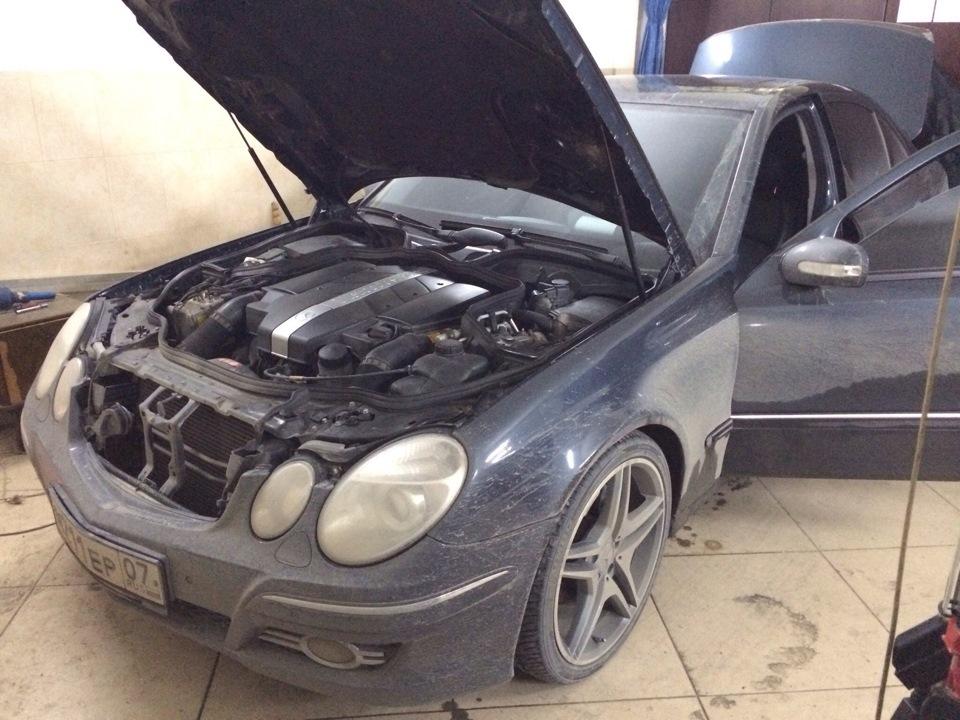 Блок SBC (перепрограммирование) — Mercedes-Benz E-class
