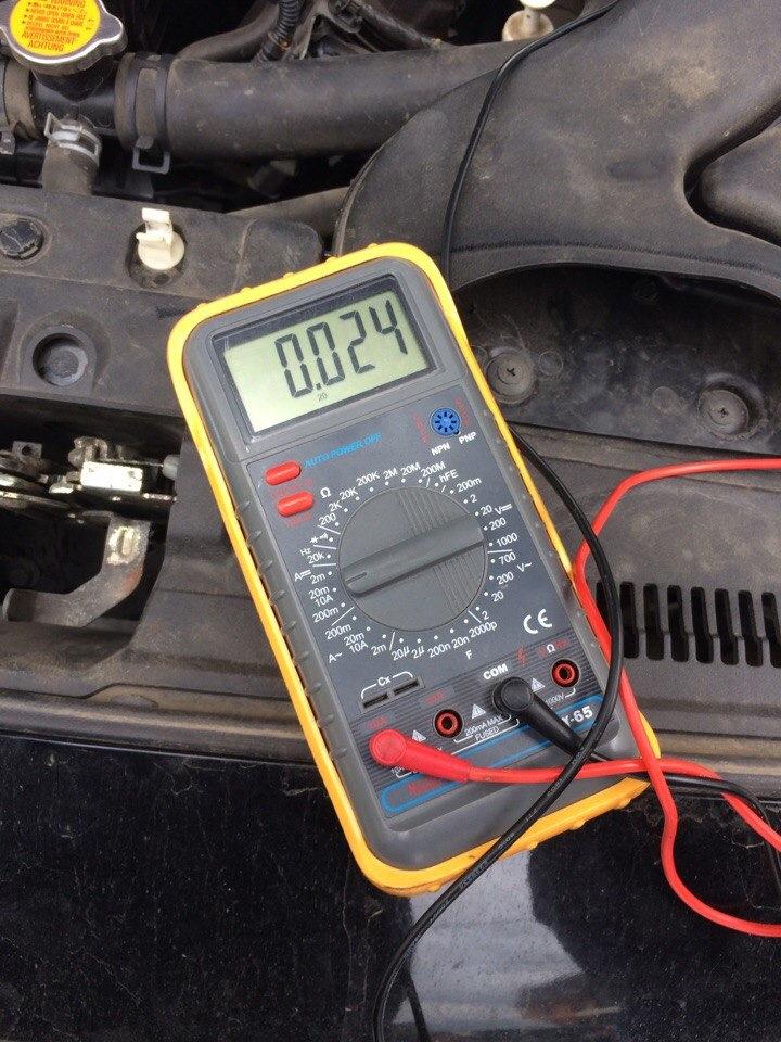 Допустимая утечка тока в автомобиле фото