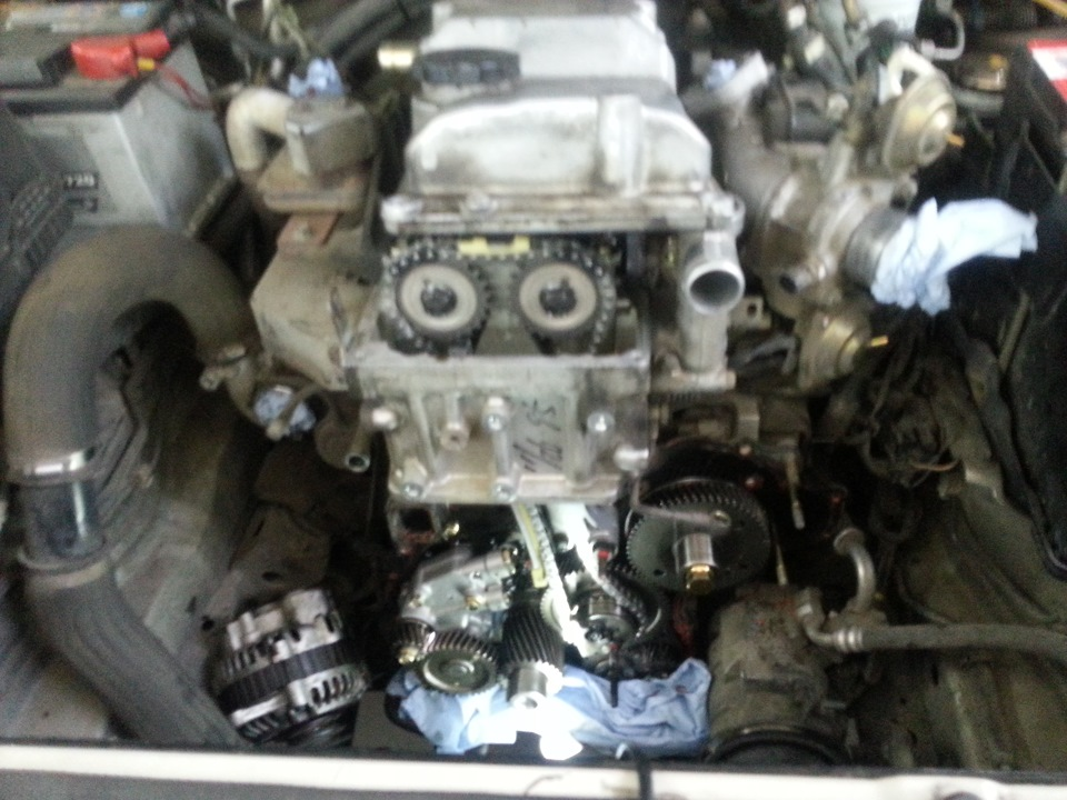 Ремонт двигателя 4д33 своими руками 84